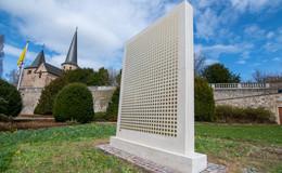 Nach Vandalismus-Anschlag: König-Konrad-Denkmal erstrahlt in neuem Glanz