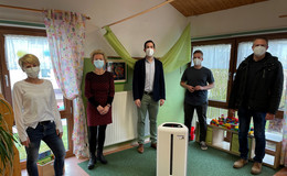 Neben kostenfreien Selbsttests: Stadt schafft Luftfilter für Kindertagesstätten