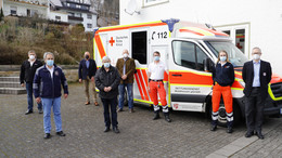 Pilotprojekt eröffnet: Neue DRK-Rettungswache in Rohrbach