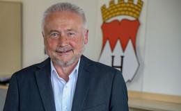 Abschied nach 18 erfolgreichen Amtsjahren: Alt-Bürgermeister Hubert Blum