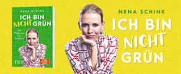Bestsellerautorin kündigt neues Buch an: ICH BIN NICHT GRÜN