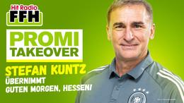 U-21-Erfolgstrainer Stefan Kuntz moderiert Guten Morgen, Hessen