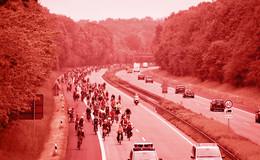 Kritiker der Fahrraddemo auf A7: Keine Verkehrswende um jeden Preis