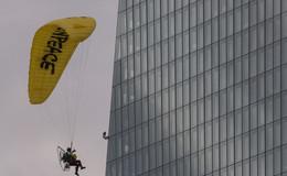 Greenpeace-Aktivist landete schon auf der EZB
