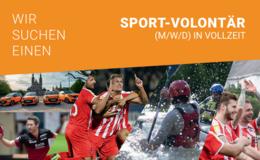 Wir suchen ab sofort: Sport-Volontär (m/w/d) in Vollzeit