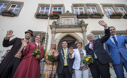 60 Jahre Hessentag: Ministerpräsident Volker Bouffier gibt sich zuversichtlich
