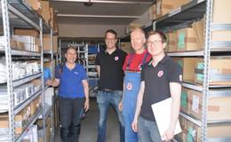 Firma Ludwig Haustechnik: Ein gut organisiertes Lager reduziert Arbeitsstress