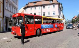 Am Samstag wieder in der Innenstadt unterwegs: der fahrende Musikbus