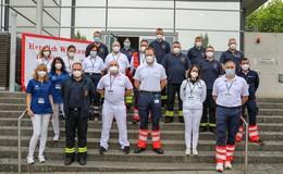 Hunderte Dosen Biontech verimpft: Große Aktion in der Florenberghalle