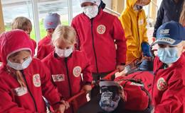 Erste Gruppenstunde der Bergwacht Jugend Wasserkuppe