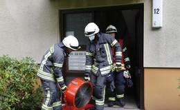 Verbrannter Reis sorgt für Feuerwehreinsatz: Feuermelder warnt rechtzeitig