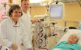 Eigene Dialysestation am Klinikum gestartet: 500.000 Euro investiert