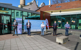 DRK und Klinikum Fulda eröffnen Corona-Testzentrum im Kulturkessel