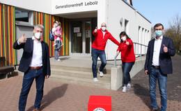 DRK startet in Eiterfeld-Leibolz mit weiterem Schnelltestzentrum