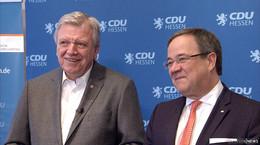 Bouffier bestätigt! CDU-Präsidium will Armin Laschet als Kanzlerkandidaten