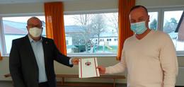 Ortsvorsteher Ralph Linker startet in die zweite Amtszeit in Liederbach