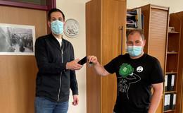 Stadtverwaltung bietet Luca-App-Schlüsselanhänger kostenlos an