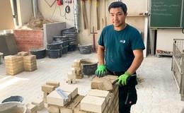 Ich will immer mehr lernen: Ali Naseri (33) absolviert Lehre bei Jökel Bau