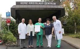 Herz-Team als überregionales Herzinsuffizienzzentrum zertifiziert