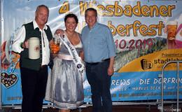 Das war mega: Bierkönigin Yasemin Renz erobert die Wiesbadener Wiesn