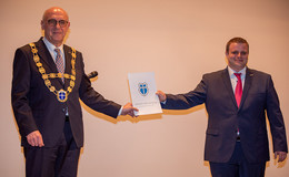 Bürgermeistereinführung im Kolpinghaus unter besonderen Umständen