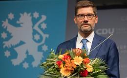 Neustart bei CDU Thüringen: Hirte jetzt Partei-Chef - Raymond Walk ist Vize