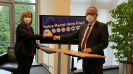Hessischer Rundfunk tritt Kooperationsvereinbarung #KeineMachtdemHass bei