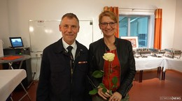Abschied Georg Wehner nach 20 Jahren als Gemeindebrandinspektor