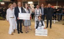 Zukunft Rind: Teuerstes Tier bei der Auktion erbrachte 22.000 Euro