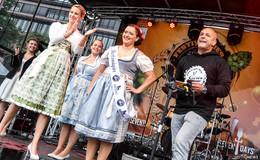 Dem Regen zum Trotz: Das Festival des Bieres ist gestartet