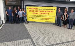 Kein Breitband: Wir sind abgehängt - Unternehmer in Rimbach sind wütend
