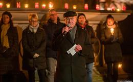 Aktion gegen Abtreibung: Lichterprozession zur Mariensäule mit Gebet