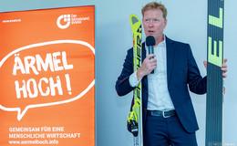 Große Sprünge machen durch Zusammenarbeit: Ex-Skispringer gibt Tipps