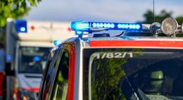 Mit Rettungshubschrauber in Klinik: Schwerer Motorradunfall in Schotten