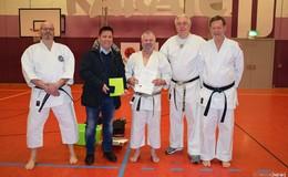 Sensei Dieter Jung - Karate-Urgestein wird für 50 Jahre Engagement geehrt