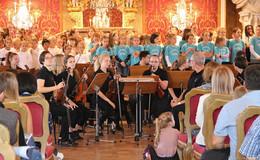 Sitzkissenkonzert Kammerorchester der Jugend Fulda ein voller Erfolg