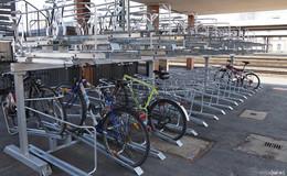 225 Fahrradabstellplätze für klimafreundliche Mobilität