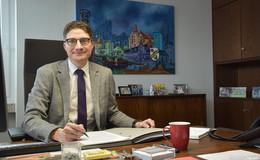 Timo Lübeck will Familien im Haunetal halten und die Infrastruktur verbessern