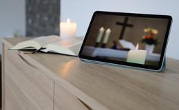 Evangelische Kirche gibt wöchentliche Tipps: Gottesdienst am Bildschirm feiern