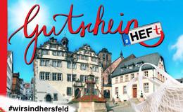 Jetzt mitmachen: Drei GutscheinHEFte für Bad Hersfeld gewinnen!
