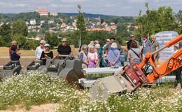 Kulturelles Naturerlebnis und Domblick: Garten am Engelshaus nimmt Form an