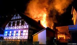 Wohnhaus nach Großbrand unbewohnbar: Schock in Klings - Spendenaufruf