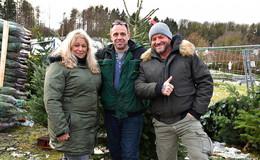 Weihnachtsbaumverkäufer Maik Basermann setzt sich für den Klimaschutz ein