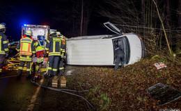 Unfallfahrer kann noch selbst Einsatzkräfte alarmieren