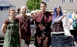 Zurück in ein anderes Zeitalter: Mittelaltermarkt in der Kreisstadt lockt Besucher