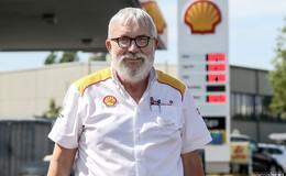Umbau der Frankfurter Straße: Shell-Tankstellen-Pächter freut sich jetzt schon