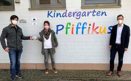 Für die Gesundheit der Kinder: CO2-Messgeräte für Kindergarten Pfiffikus
