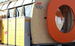 DHL-Packstation ergänzt neues Vertriebskonzept Tegut Teo