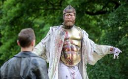 Theater auf Schloss Fasanerie: Hamlet auf Englisch unter freiem Himmel
