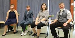Brüder-Grimm-Schule entlässt vier Schülerinnen und Schüler ins Berrufsleben